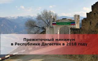 Какой прожиточный минимум в Дагестане