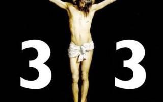 33 года это возраст Христа