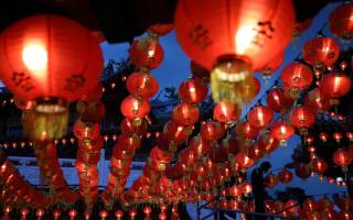 Когда отмечается китайский новый год