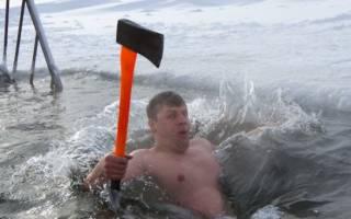 Почему на крещение купаются