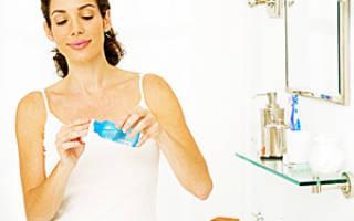 Как правильно смывать макияж