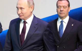 Почему Путин не убирает Медведева