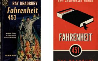 О чём книга 451 градус по Фаренгейту