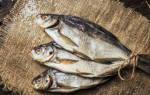 Как правильно хранить вяленую рыбу