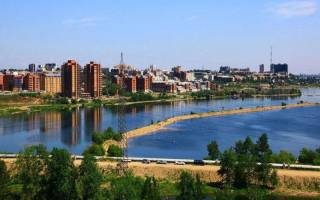 Какие города есть в Сибири