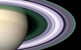 Какая толщина колец Сатурна