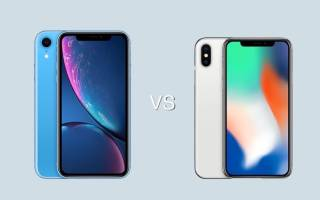 Какая модель iPhone лучше xr или x