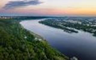 Где исток и устье реки Ока