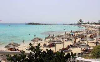 Где на Кипре хорошие пляжи