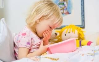 Как остановить рвоту у ребенка 3 лет