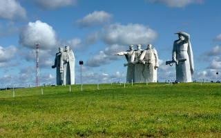 Где стоит памятник 28 панфиловцам