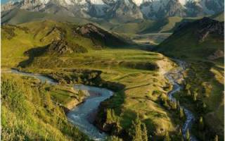 Какой возраст имеют горы Евразии