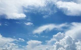 Какие виды облачности бывают