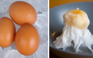 Можно ли замораживать яйца куриные