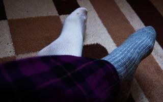 Можно ли ходить в разных носках