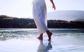 Что означает идти по воде во сне