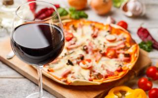 Какое вино подходит к пицце