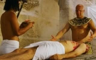 Какая была медицина в Древнем Египте