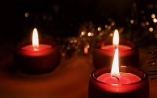 Для чего в церкви красные свечи