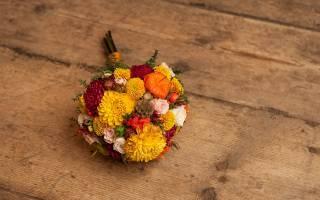Как выбрать свадебный букет невесты