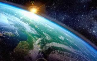 Как выглядит Земля до потопа