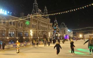 Где погулять в Москве с детьми зимой