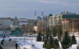 Стоит ли ехать зимой в Казань