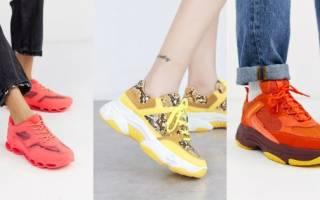 Какие кроссовки сейчас самые модные