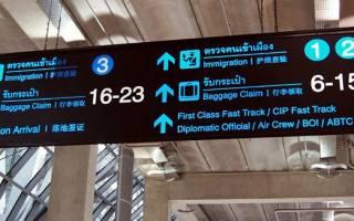 Как ориентироваться в аэропорту