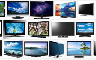 Какие бывают виды телевизоров
