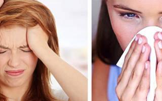 Почему болит лоб при насморке