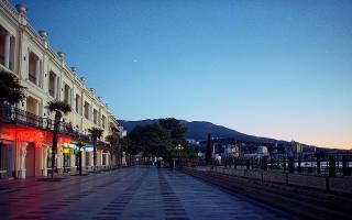 Как добраться до Крыма из Краснодара
