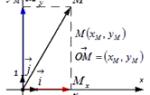Что такое координаты вектора