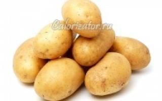 Сколько углеводов в картофеле