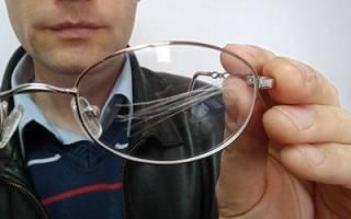 Как убрать царапины с очков