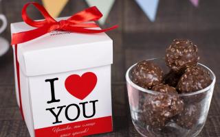 Какие конфеты любят девушки
