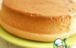 Как сделать пышные коржи для торта