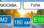 Сколько ехать от Москвы до Тулы