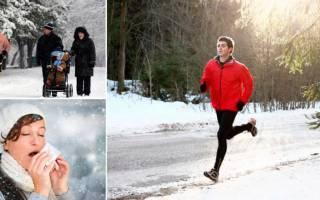 Как начать бегать зимой на улице