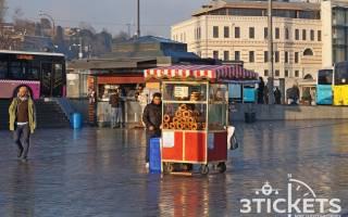 Как выглядит Стамбул зимой