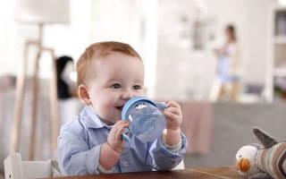 Как приучить грудничка пить воду