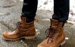 Какая мужская обувь сейчас в моде