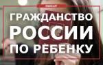Как получать гражданство детям в РФ