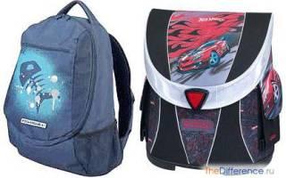 Чем отличается ранец от рюкзака